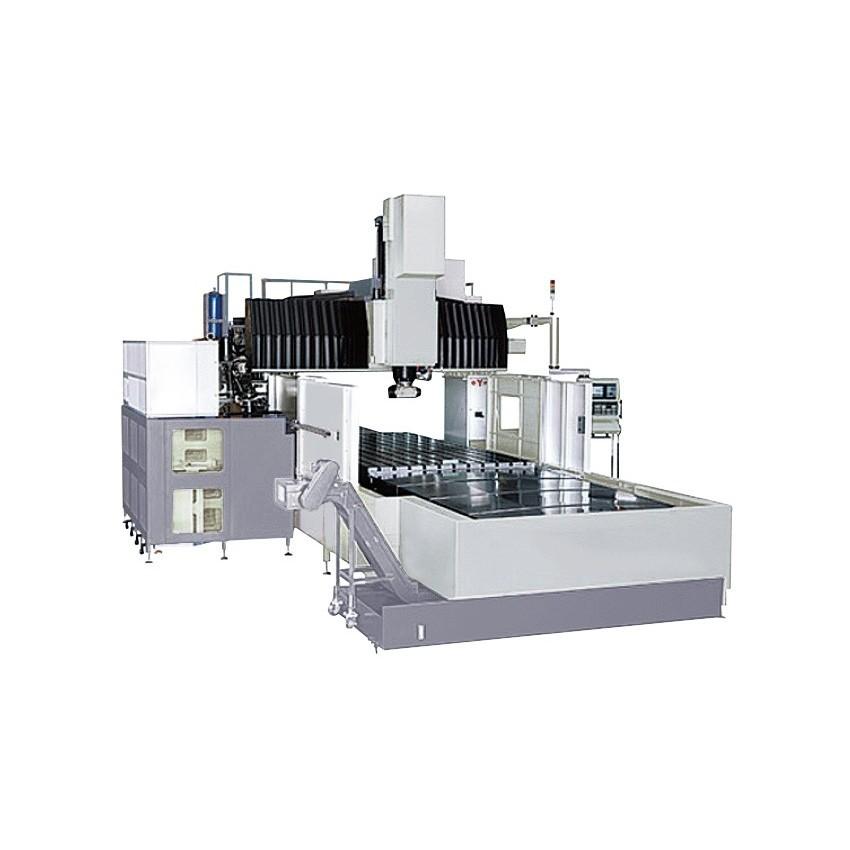 Gantry machine centers